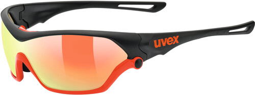 UVEX Sportstyle 705 Sportglasses black white/mirror blue 2018 Triathlon Brillen OjtYQR